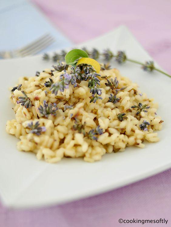 Cucina: risotto al prosecco e fiori di lavanda. – Little Dots Dream